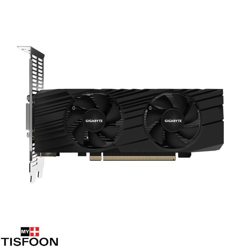 GV N1656D6 4GL 2 - کارت گرافیک گیگابایت مدل GeForce GTX 1650 D6 Low Profile 4G