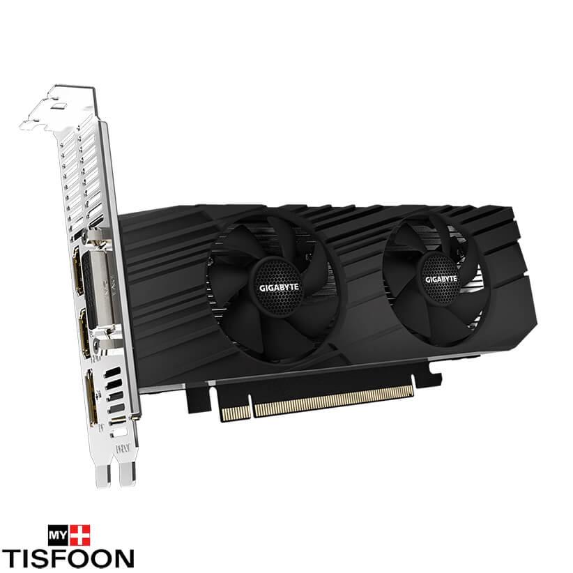 GV N1656D6 4GL 3 - کارت گرافیک گیگابایت مدل GeForce GTX 1650 D6 Low Profile 4G
