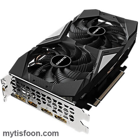 GV N166TOC 6GD MYTISFOON 4 - کارت گرافیک گیگابایت مدل GeForce GTX 1660 Ti OC 6G