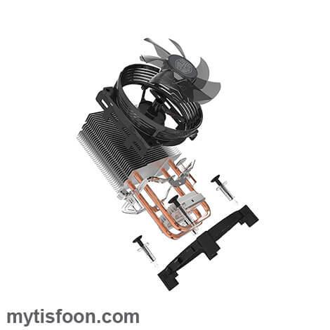 خنککننده بادی پردازنده کولرمستر Hyper T20