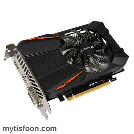 GV N105TD5 4GD mytisfoon 4 - کارت گرافیک گیگابایت مدل GeForce® GTX 1050 Ti D5 4G